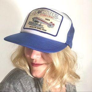 Vintage Trucker Showalter's SnapBack Hat